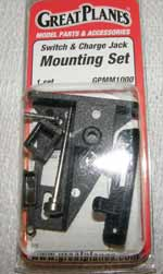 Switch & Charge Jack. Mounting Set