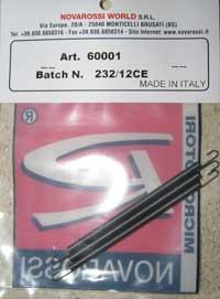 Fjærer motor eksosbend 90,0mm(3 stk)